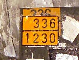 nummer zur kennzeichnung der gefahr
